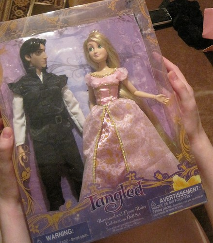 Flynn(Eugene) and Rapunzel disney Tangled dolls | by Airinora