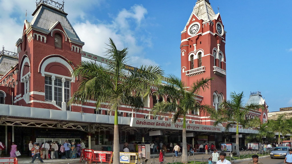Image result for chennai central + 1990s