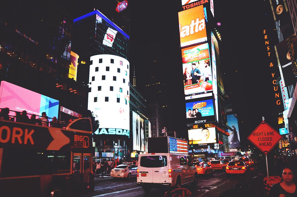 Times Square, New York City | via It's Travel O'Clock