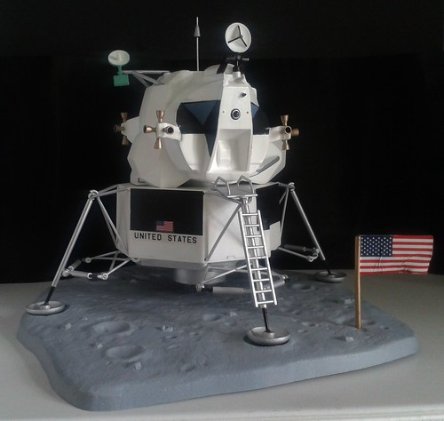 1/48 Revell Lunar Module: Inaccuracy is a virtue ...