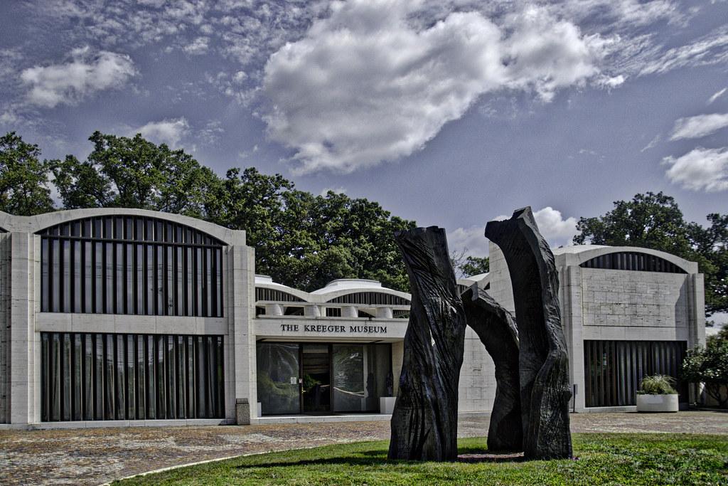 ... The Kreeger Museum, with 'Lament' by Emilie Brzezinsky (2015) --
