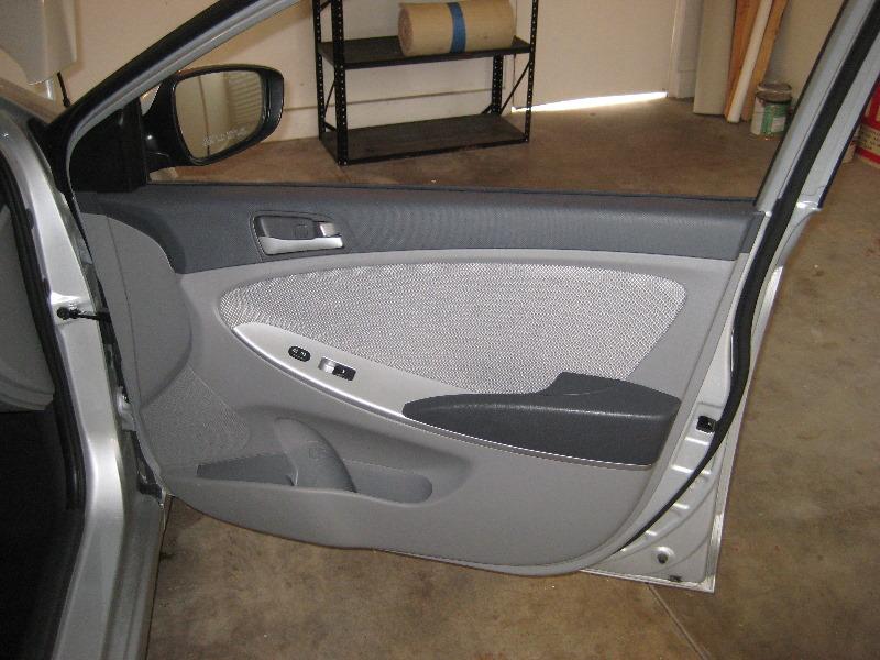2013 Hyundai Accent Plastic Interior Door Panel Take Off Flickr