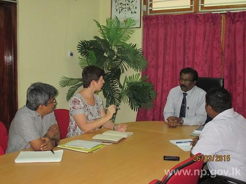 UNICEF Deputy Representative for Sri Lanka visited to Northern Province - 06 March 2015