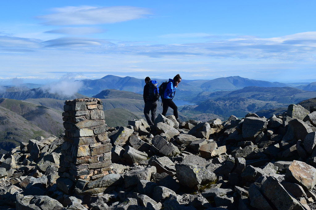 Enjoy a walk over Scafell Pike whilst staying at Skelwith Fold
