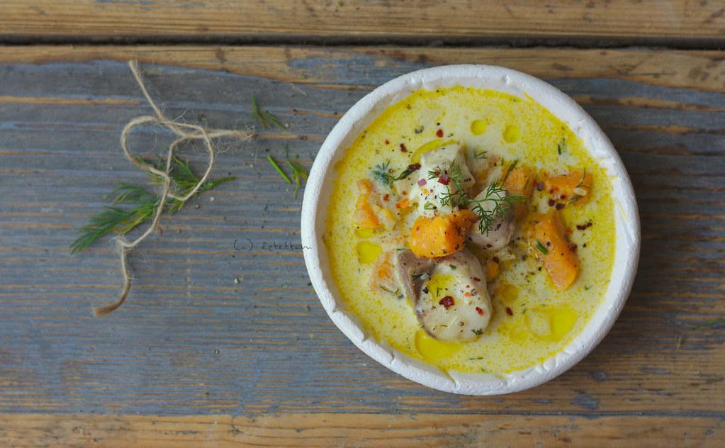 Lohikeitto (finnish salmon soup) www.eztettem.hu Eci Papp Flickr