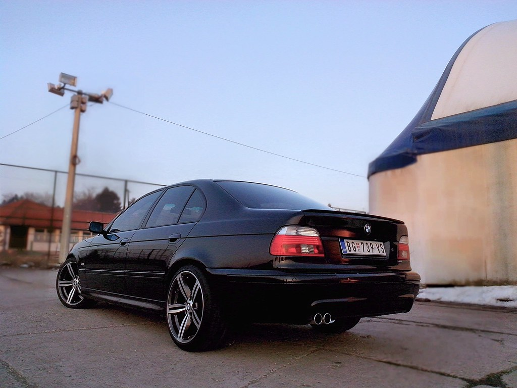 Bmw E39 M Optic Shadow Line Bmw E39 M Optic Shadow Line