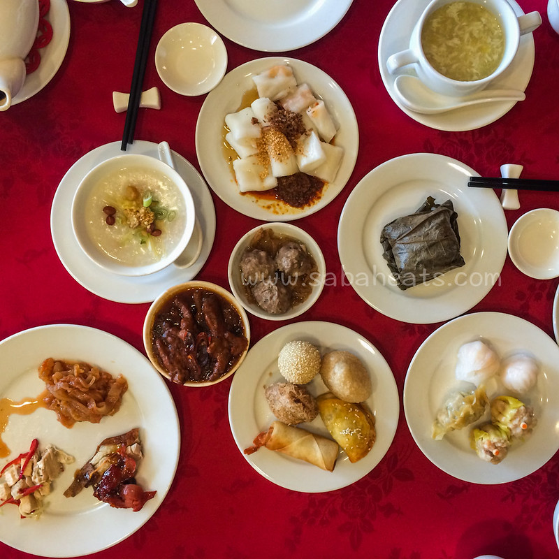 Dim Sum buffet for weekend brunch at Shang Palace
