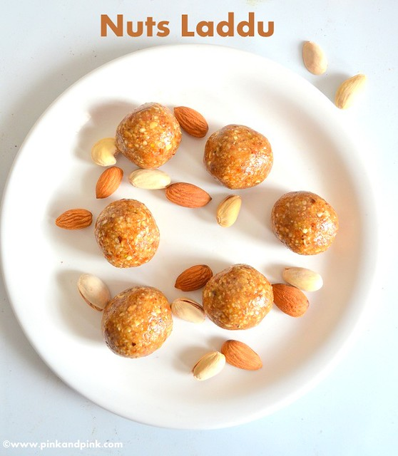 Nuts Laddu - Nuts  Balls - Energy Bites Recipe