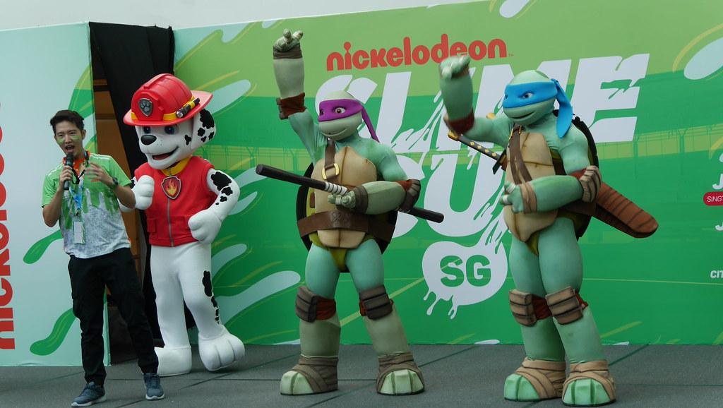 Leonardo and Donatello from Teenage Mutant Ninja Turtles