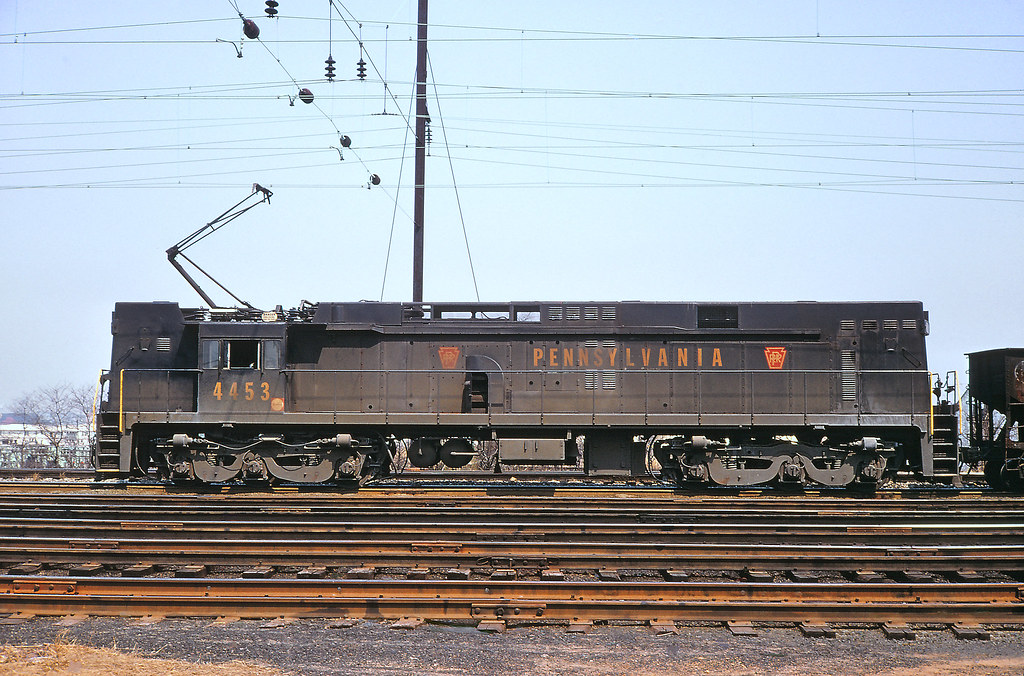 Pennsylvania Railroad E44 Electric March 1970 A Prr