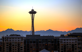 Seattle Sunset | by tiffany98101