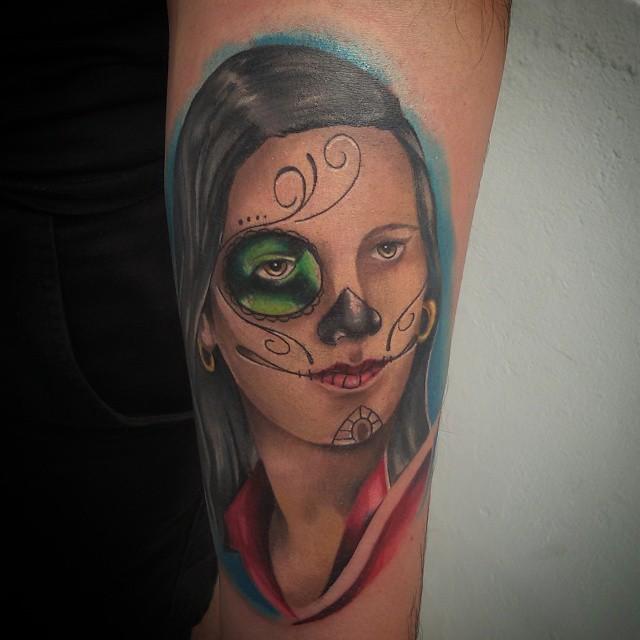 Tattoo Catrina Tattoo Tatuaje Tinta Ink Tinta Skin Flickr