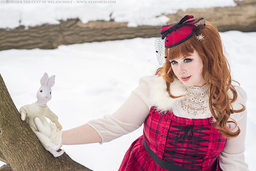 plus size plaid lolita dress