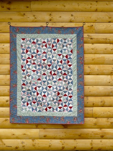French General Hourglass Quilt | by CoraQuilts~Carla
