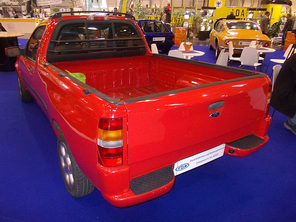 ford fiesta pick up 1998 techno classica essen 2016 made flickr. Black Bedroom Furniture Sets. Home Design Ideas