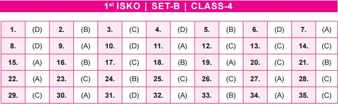 Class 4 SET B