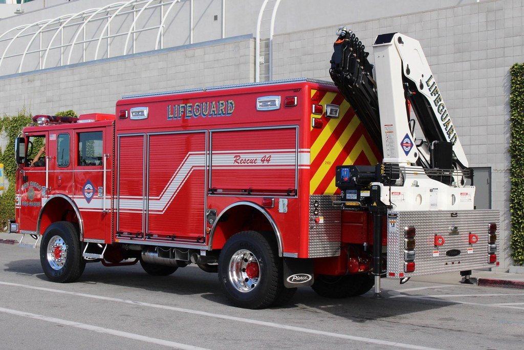 Raise It Up Rescue Trucks With Cranes Firefighting