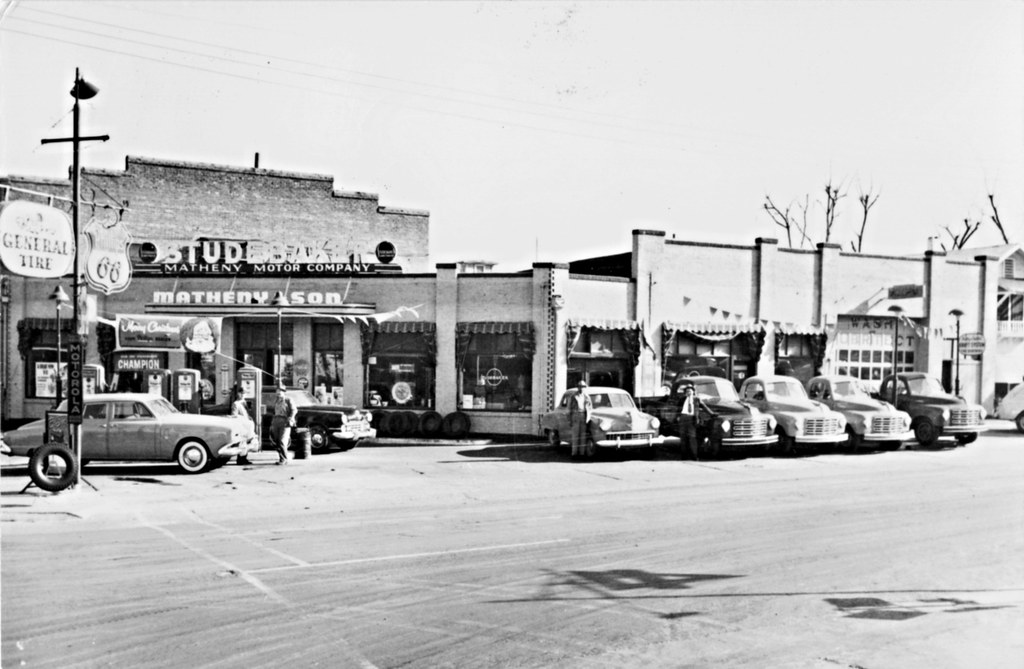 White Motor Company >> Matheny Motor Co., Studebaker, Santa Ana CA, 1950 | 912 No ...