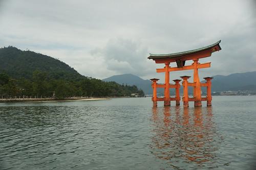 Itsukushima Shrine  A Shinto shrine on the island of ...