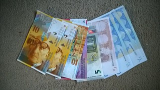 Swiss Francs and Euros | by jambox998