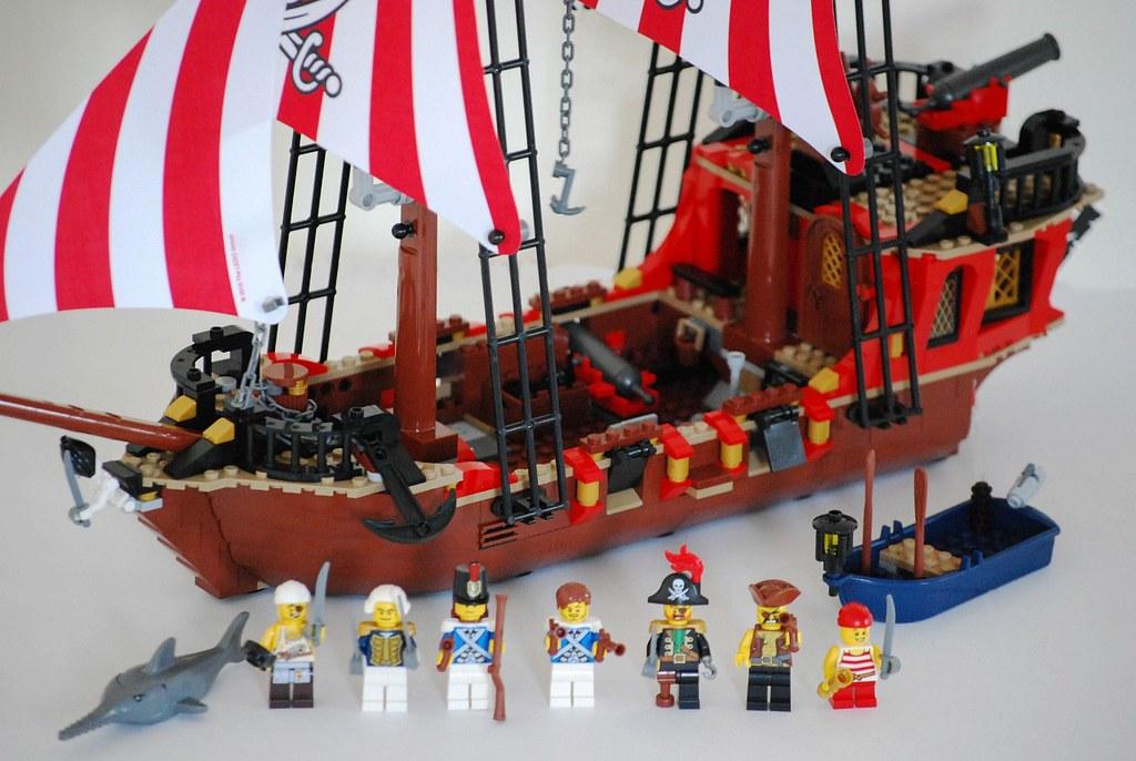 Lego Pirates Treasure Island Review