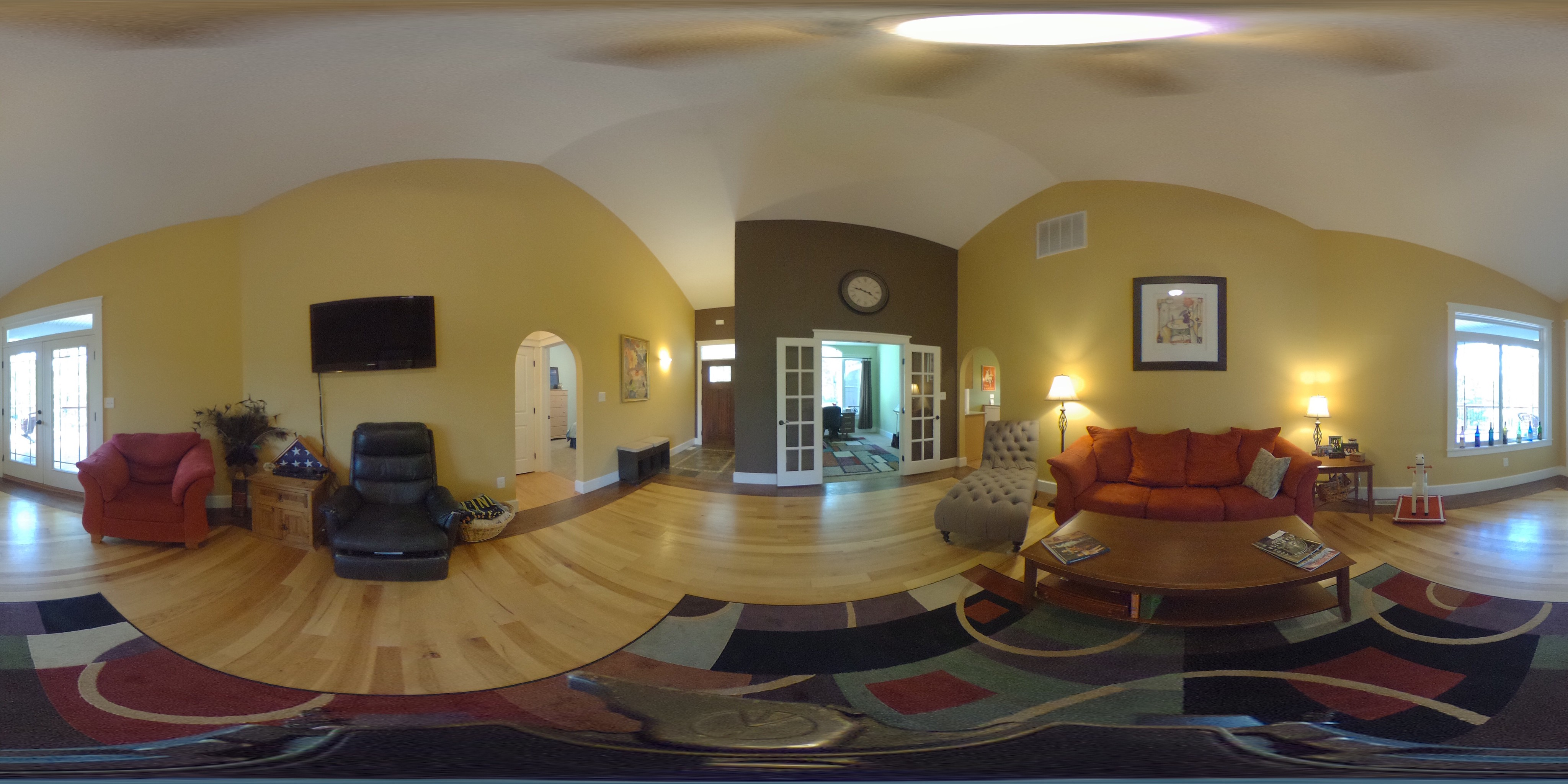 5 Nutwood Living Room 360° View
