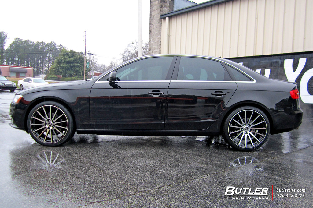 Audi A4 With 20in Tsw Chicane Wheels Additional Picture