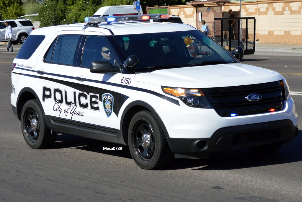 Yuma Arizona Police, Ford Interceptor SUV