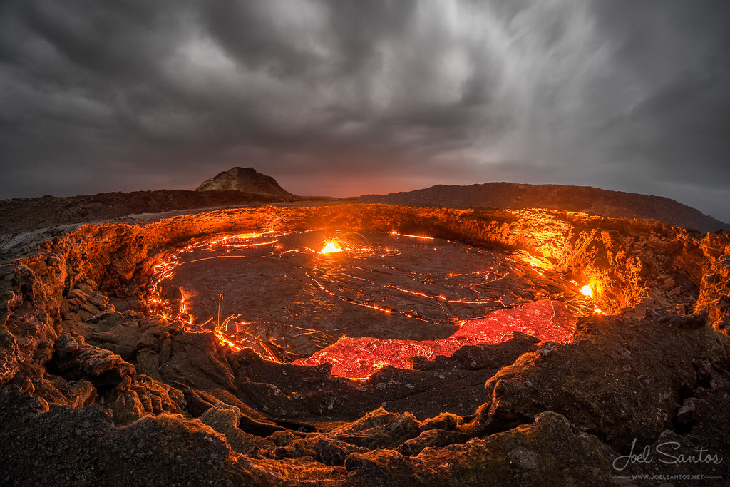 Erta Ale shield volcano, Afar / Danakil Depression, Ethiopia