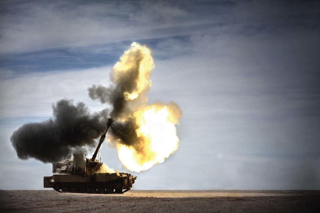 M109 Paladin - Live Fi...