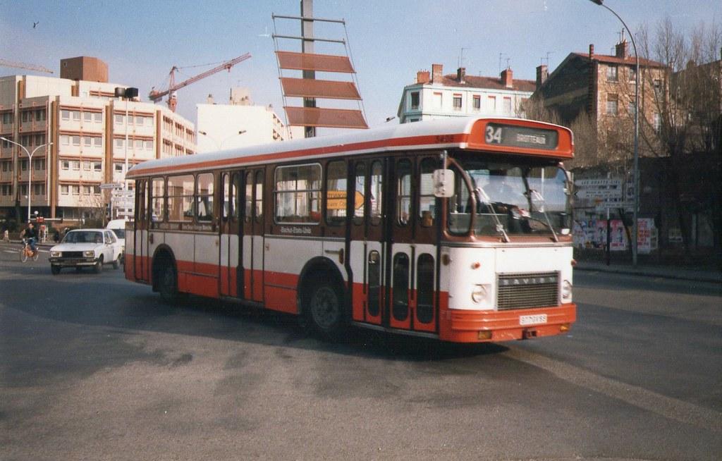 1989 lyon 69 bus tcl saviem sc10 michel tinnirello flickr. Black Bedroom Furniture Sets. Home Design Ideas