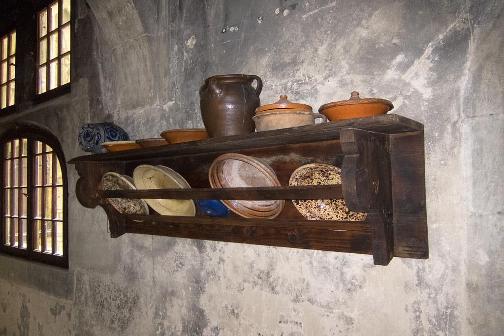White Kitchen Shelf Unit