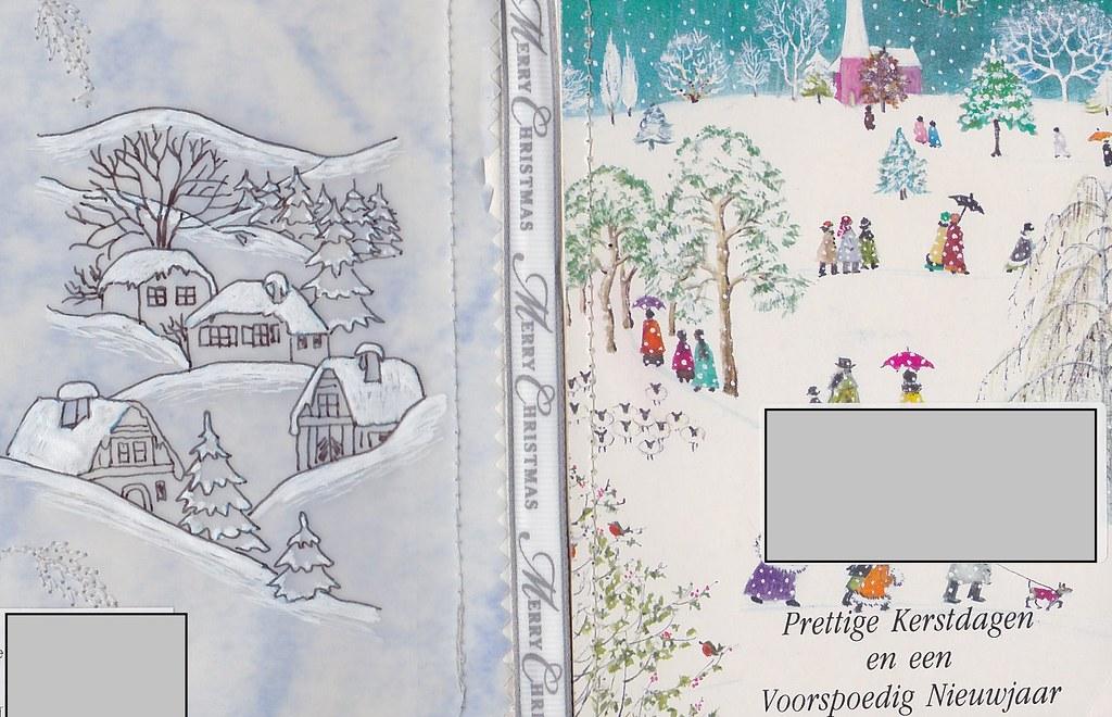christmas card note book swap jan 2015 by smlvado