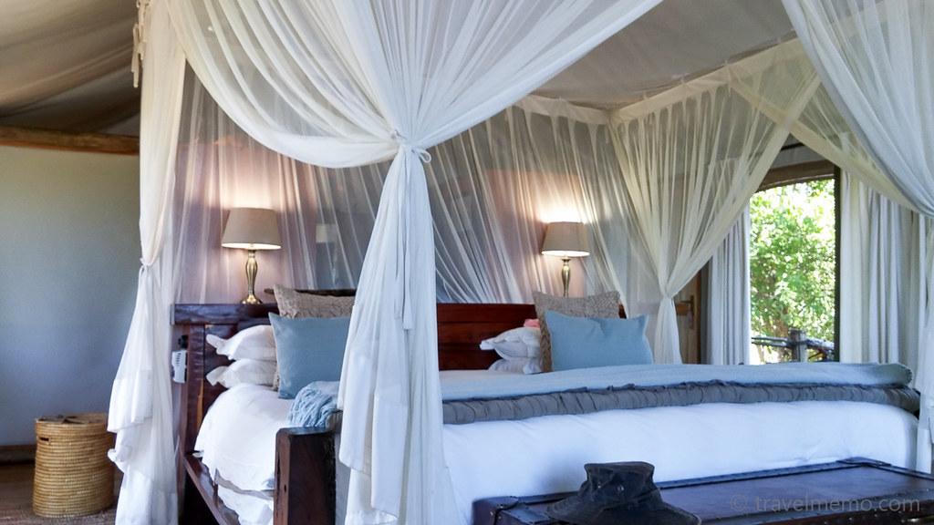 ... Canopy Bed Tubu Tree C& | by travelmemo.com & Canopy Bed Tubu Tree Camp | Canopy Bed in the Tubu Tree Tentu2026 | Flickr