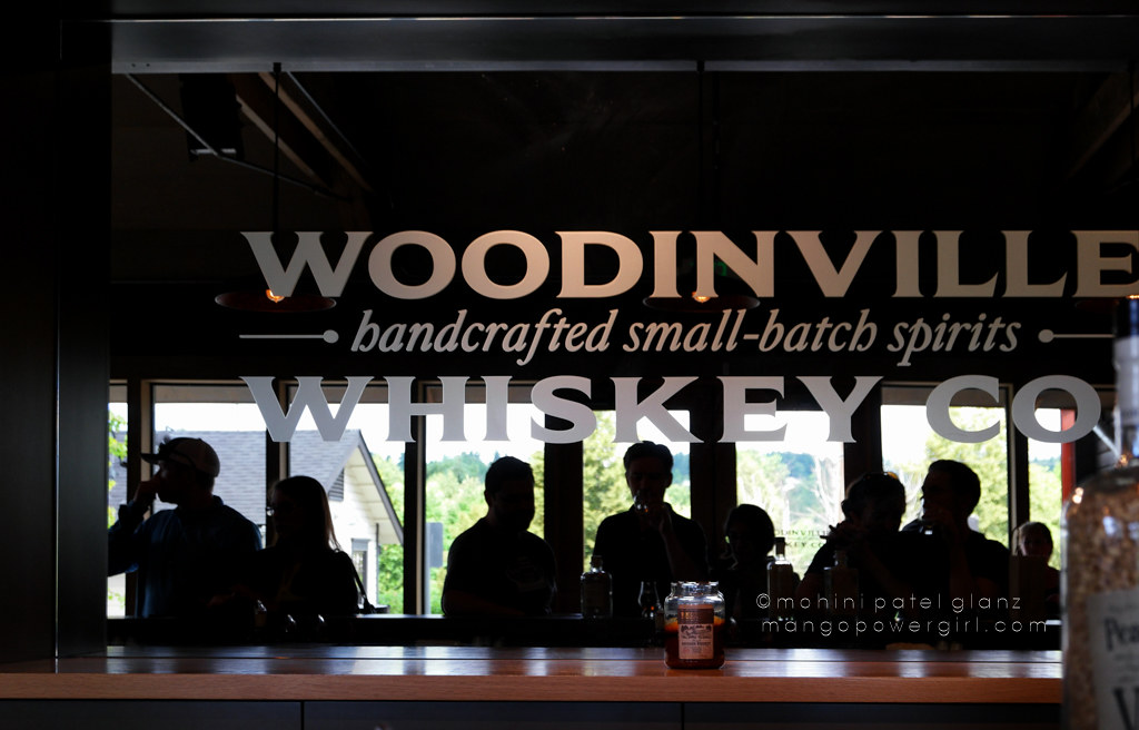 tasting room at woodinville whiskey co.