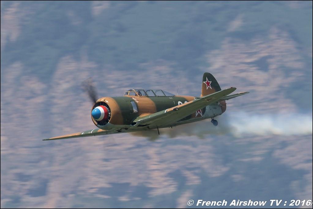 Yak-11 - F-AZJB , Grenoble Air show 2016 , Aerodrome du versoud , Aeroclub du dauphine, grenoble airshow 2016, Rhone Alpes