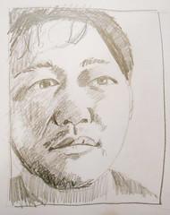 JKPP Heanu Kang by Bill Fulton watercolors