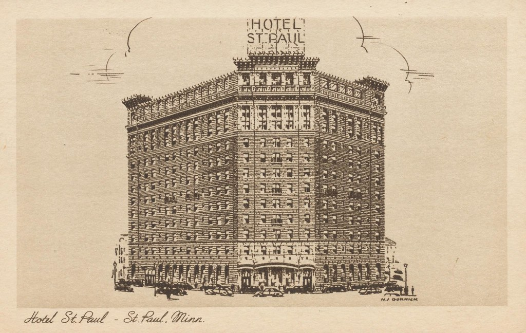 Hotel St. Paul - St. Paul, Minnesota
