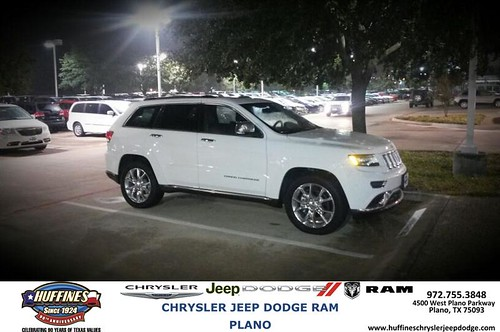 Huffines Dodge Plano >> Congratulations to Fred Rivera on your #Jeep #Grand Cherok… | Flickr