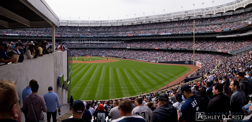 Worst Seats In Baseball Yankee Stadium Bleachers Sectio Flickr