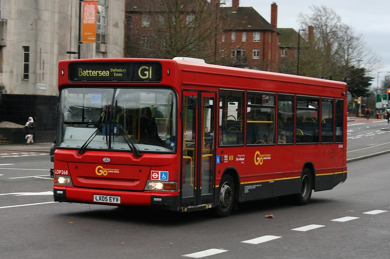 London General LDP268 on Route G1, Streatham Station