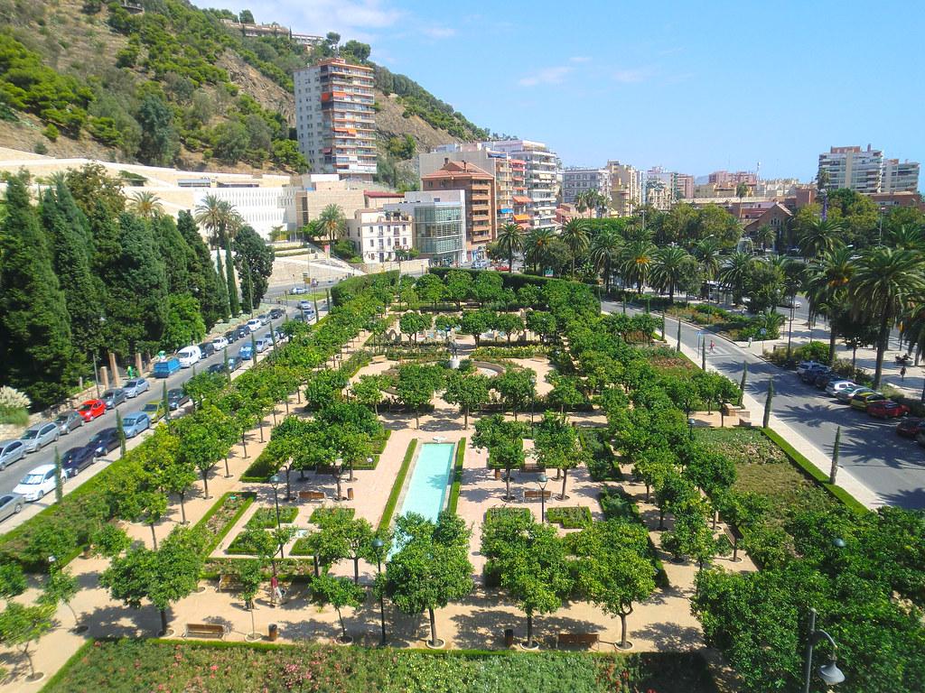 jardines pedro luis alonso vista desde el ayuntamiento