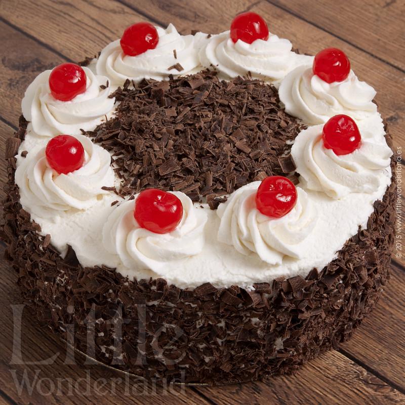 Black Forest Chocolate Cherry Cake Recipe