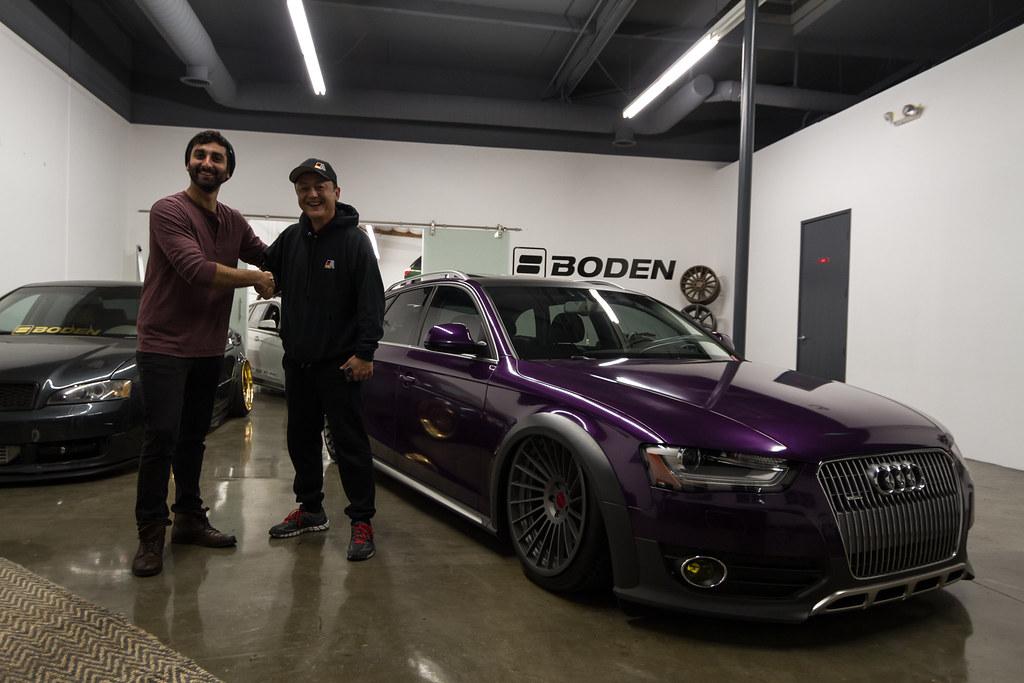 Audi allroad vinyl wrap boden autohaus sales bodenauto for Boden autohaus x5