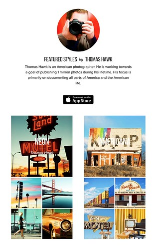 My Styles in the New Release iPhone App Priime | by Thomas Hawk