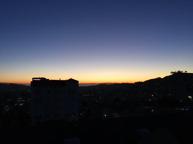 San Francisco dawn