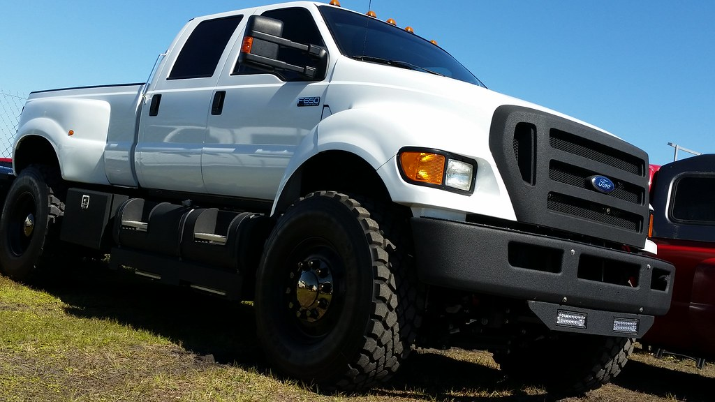 Ford F650 Xlt Super Duty >> Ford F650 Xlt Super Duty Pickup Truck Carlise Events Zephy Flickr