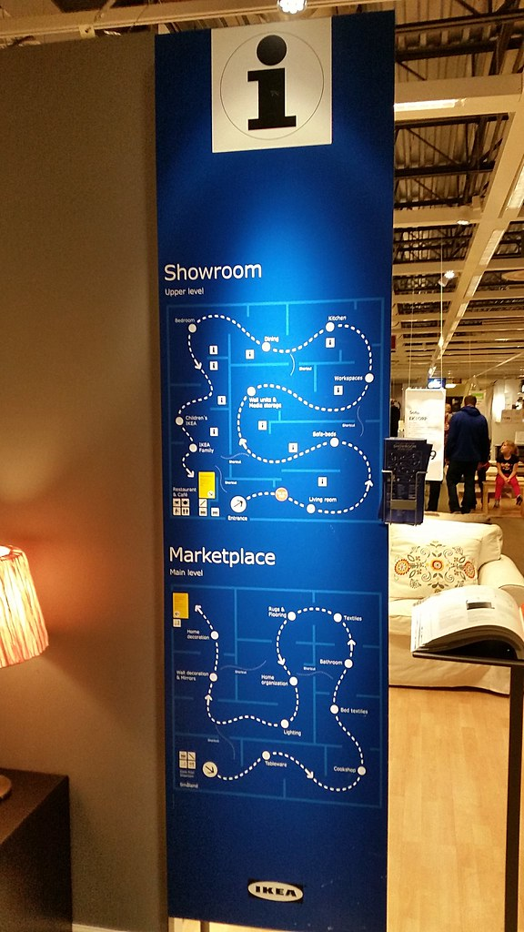 Ikea Directory A 175 000 Square Foot Super Kmart Store