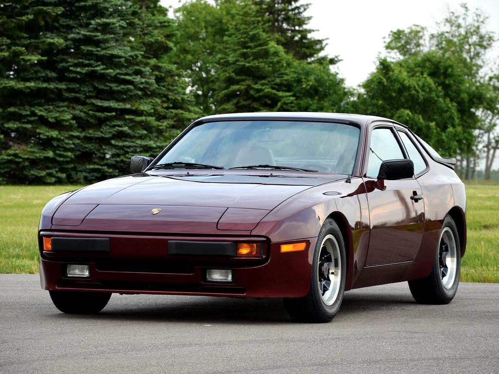 Porsche 944 Coupe для рынка США. 1982 – 1989 годы