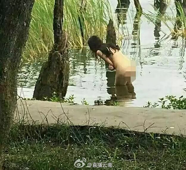 NET exposure of erhai Lake woman nude, parties: art, online photo candids